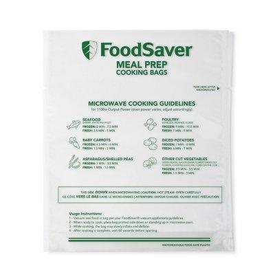 FoodSaver® Microwavable Meal Prep Bags, 1 Quart, 16 Ct.
