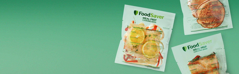 foodsaver meal prep cooking bags