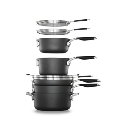 Select by Calphalon™ Space-Saving Hard-Anodized Nonstick 14-Piece Cookware & Utensil Set