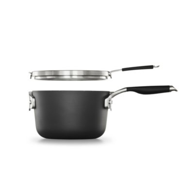 Select by Calphalon™ Space-Saving Hard-Anodized Nonstick 3.5-Quart Sauce Pan with Cover