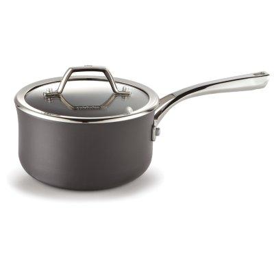 Calphalon Williams-Sonoma Elite Hard-Anodized Nonstick 1.5-Quart Sauce Pan with Cover
