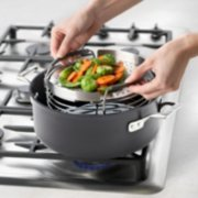 sauce pan with steamer insert image number 1