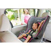 2 in 1 my ride convertible car seat in rear facing position inside vehicle image number 3