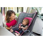 2 in 1 my ride convertible car seat in rear facing position inside vehicle image number 4