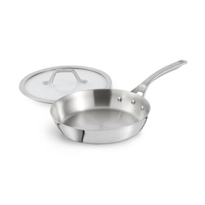 Calphalon Signature™ Stainless Steel 10-Inch Skillet Pan with Cover