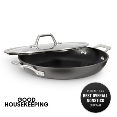 Calphalon Signature™ Hard-Anodized Nonstick 12-Inch Everyday Pan with Cover
