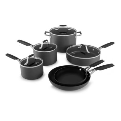 Select by Calphalon™ Hard-Anodized Nonstick Pots and Pans, 10-Piece Cookware Set