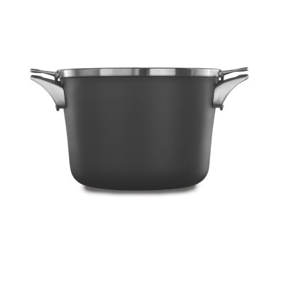 Calphalon Premier™ Space-Saving Hard-Anodized Nonstick Cookware, 8-Quart Stock Pot with Cover