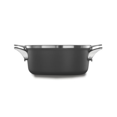 Calphalon Premier™ Space-Saving Hard-Anodized Nonstick Cookware, 5-Quart Dutch Oven with Cover