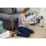 glider lite swing with baby inside image number 3
