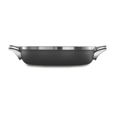 Calphalon Premier™ Space-Saving Hard-Anodized Nonstick 12-Inch Everyday Pan with Cover