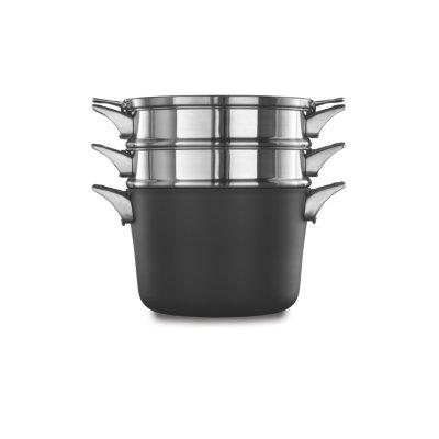 Calphalon Premier™ Space-Saving Hard-Anodized Nonstick Cookware, 8-Quart Multi Pot