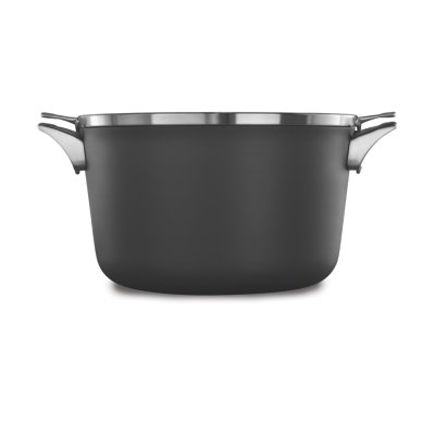 Calphalon Premier™ Space-Saving Hard-Anodized Nonstick Cookware, 12-Quart Stock Pot with Cover