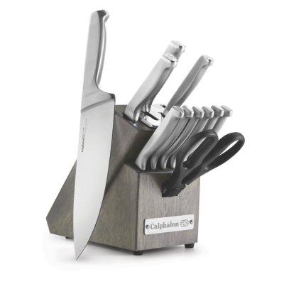 Calphalon Classic Self-Sharpening Stainless Steel 12-Piece Knife Block Set