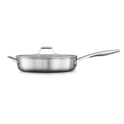 Calphalon Premier™ Stainless Steel 5-Quart. Saute Pan