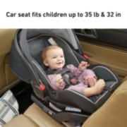 car seat fits children up to 35 pounds and 32 inches image number 2