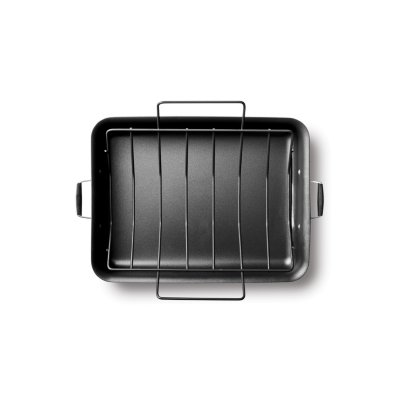 Select by Calphalon™ Hard-Anodized Nonstick 16-Inch Roaster with Rack
