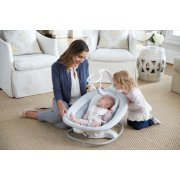 sense 2 sooth 2 in 1 swing and rocker with baby inside image number 5