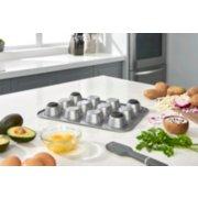 calphalon premier muffin pan image number 2