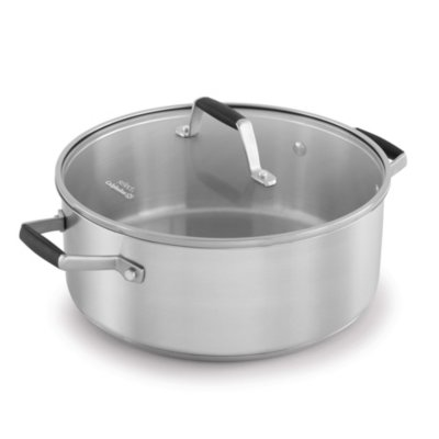 Select by Calphalon™ Stainless Steel 5-Quart Dutch Oven with Cover