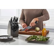 Contemporary nonstick chef knife cutting fruit on cutting board image number 3