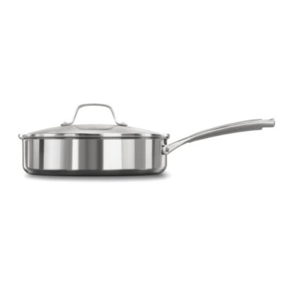 Calphalon Classic™ Stainless Steel 3-Quart Saute Pan with Cover