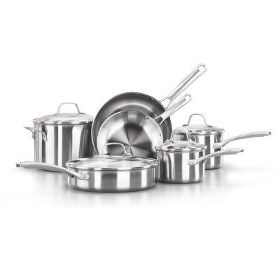 Calphalon Classic™ Stainless Steel 10-Piece Cookware Set