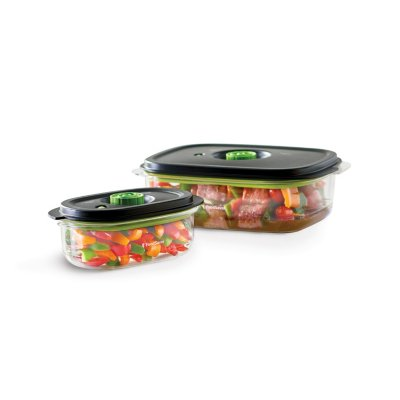 FoodSaver® Preserve & Marinate Vacuum Containers, 3-Cup and 10-Cup Set