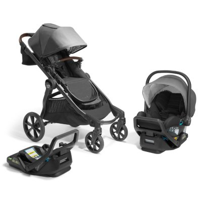 Baby Jogger® City Select® 2 Eco Collection Single-to-Double Modular Travel System Infant Essentials Bundle