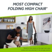 Folded infant high chair image number 1