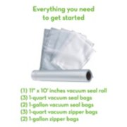 FoodSaver® 2-in-1 Automatic Vacuum Sealing System with Starter Kit, v4440, Black Finish image number 9