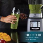 Calphalon active sense blender in use front view image number 4