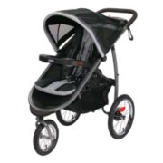 fast action fold 3 wheel jogger image number 0