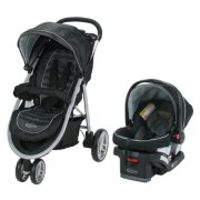 Aire 3 wheel stroller and car seat travel system image number 0
