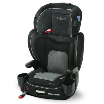 Turbobooster® Grow™ Highback Booster featuring RightGuide™ Seat Belt Trainer™