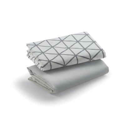 Travel Lite® Crib & MyView™ Bassinet Sheets, 2 pack