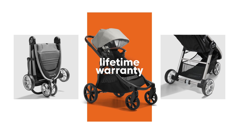 baby jogger stroller lifetime warranty