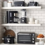 countertop oven, coffee maker, blender, small multi grill, waffle maker, slow cooker image number 5