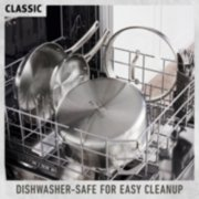 classic cookware dishwasher safe for easy cleanup image number 3