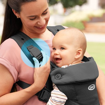 baby carrier easy secure and remove