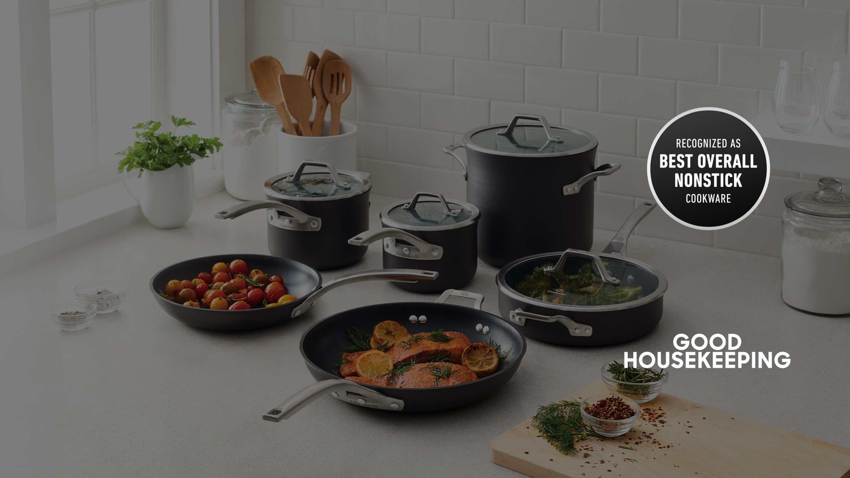 good housekeeping, recognized as best overall nonstick cookware