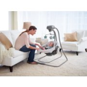 duet connect LX with multi-direction baby swing image number 4