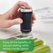 cordless handheld vacuum sealer saves space image number 1