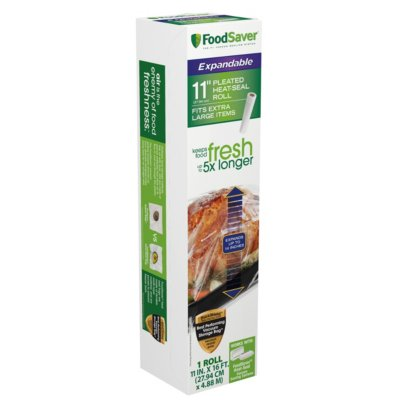 "FoodSaver® 11"" x 16' Expandable Vacuum Seal Roll"