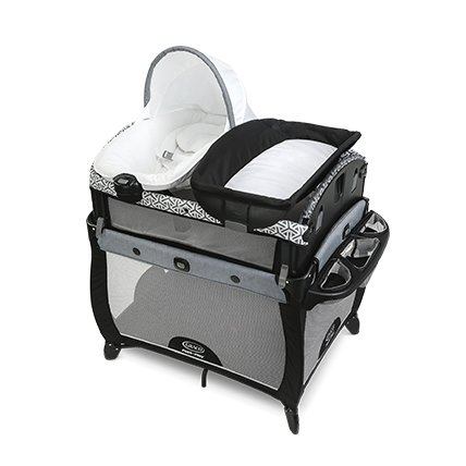 playard with bassinet