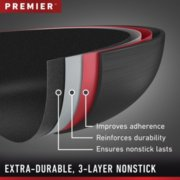 Calphalon Premier™ Hard-Anodized Nonstick 11-Inch Square Griddle image number 1