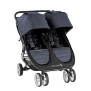 city mini 2 double stroller angle view image number 0